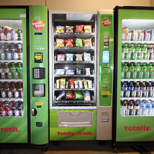 Vending machines in a Louisville break room